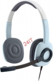 LOGITECH Stereo Headset H250 Ice Blue