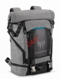 "ACER BATOH 15"" PREDATOR ROLLTOP BACKPACK 15,6"" GRAY BLACK with Blue Accent"