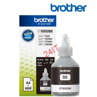 BROTHER BT-6000BK (inkoust black, 6 000 str.@ 5% draft)
