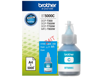 BROTHER BT-5000C (inkoust cyan, 5 000 str.@ 5% draft)