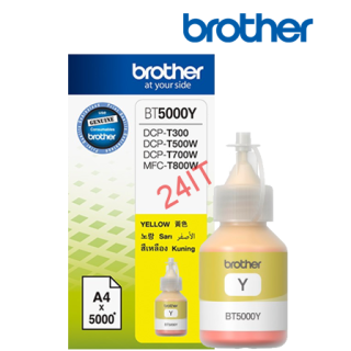 BROTHER BT-5000Y (inkoust yellow, 5 000 str.@ 5% draft)