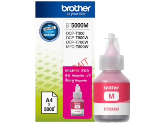BROTHER BT-5000M (inkoust magenta, 5 000 str.@ 5% draft)