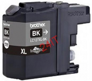 BROTHER LC-127XLBK (inkoust black,1200 str.@ 5% draft)