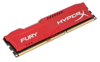 KINGSTON 8GB 1866MHz DDR3 CL10 DIMM HyperX FURY RED Series