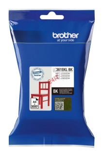 BROTHER LC-3619XLBK (inkoust black, 3 000 str. @ 5% draft)