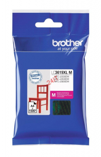 BROTHER LC-3619XLM (inkoust magenta, 1 500 str. @ 5% draft)