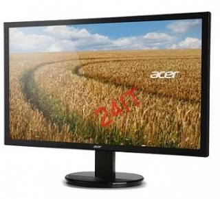 ACER K222HQLbd LED, 55cm,1920x 1080,100M:1,5ms,DVI,Black SLIM