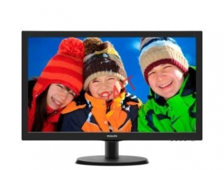 "Philips 223V5LSB 21,5""wide / 1920x1080 / 5ms / 10mil:1 / DVI / LED"