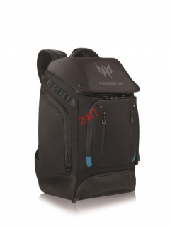 "ACER BATOH 17"" PREDATOR GAMING UTILITY BACKPACK BLACK WITH TEAL BLUE"