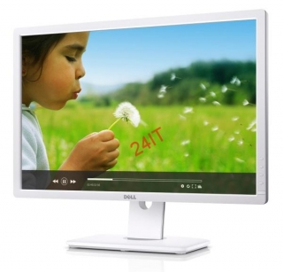 "Dell UltraSharp U2412M 24"" wide/8ms/1000:1/1920x1200/DVI/USB/bílý"