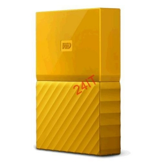 "WD My Passport Exclusive Edition 2TB Ext, 2,5"" USB3.0, YELLOW"
