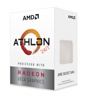 AMD Athlon 200GE 2core (3,2GHz) , 35W, 14nm, (GPU VEGA 3)