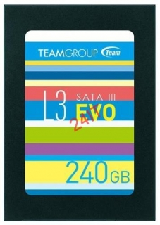 "TEAM L3 EVO 240GB ,SATAIII 2.5"" Phison 2D MLC (530MB/s; 470MB/s), 7mm"