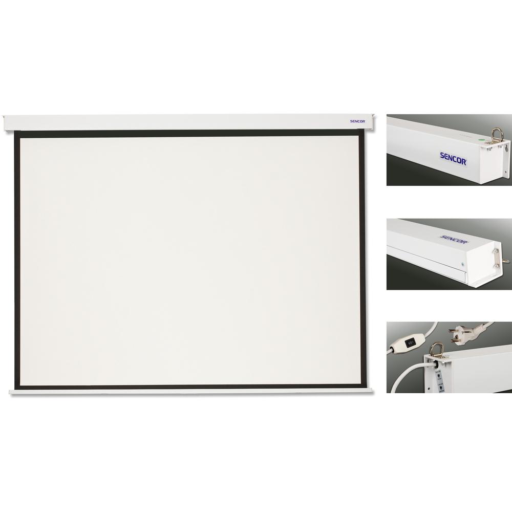 SENCOR SES N203W projekční plátno elktrické