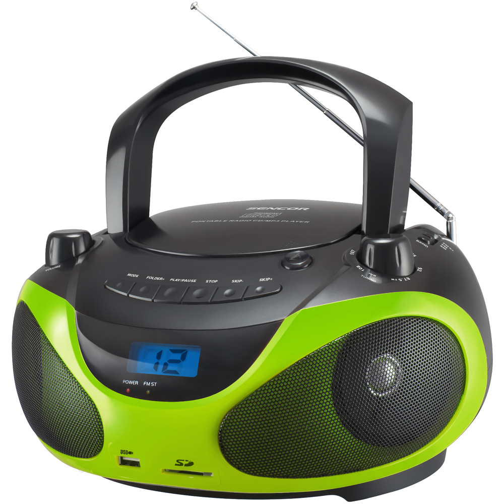 SENCOR SPT 228 BG RADIO S CD/MP3