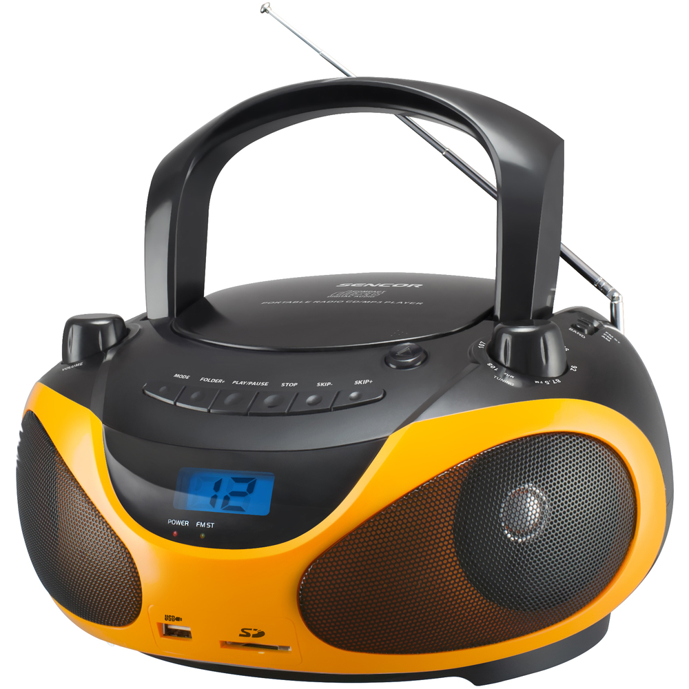 SENCOR SPT 228 BO RADIO S CD/MP3
