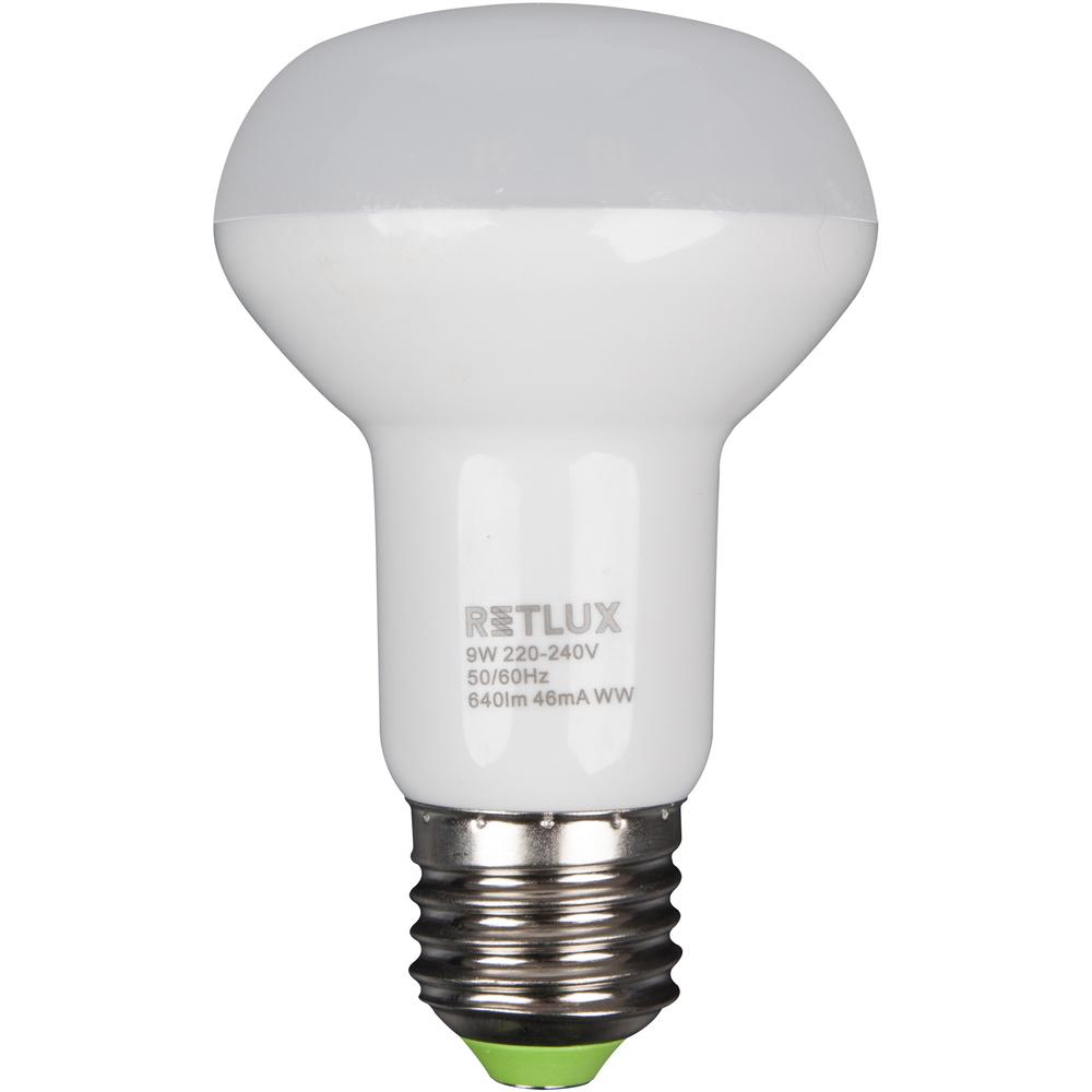 Fotografie RETLUX RLL 34 LED R63 9W E27