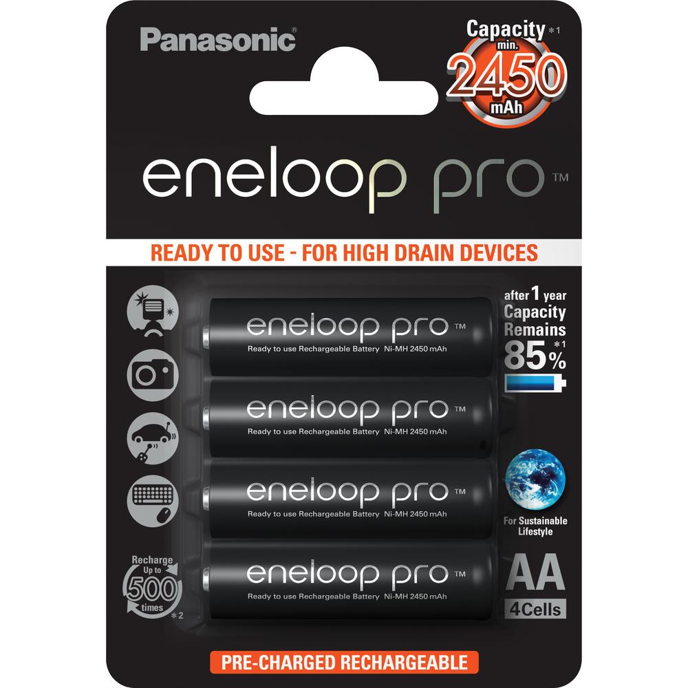 PANASONIC 3HCCE/4BE ENELOOP PRO AA 4x 35045047