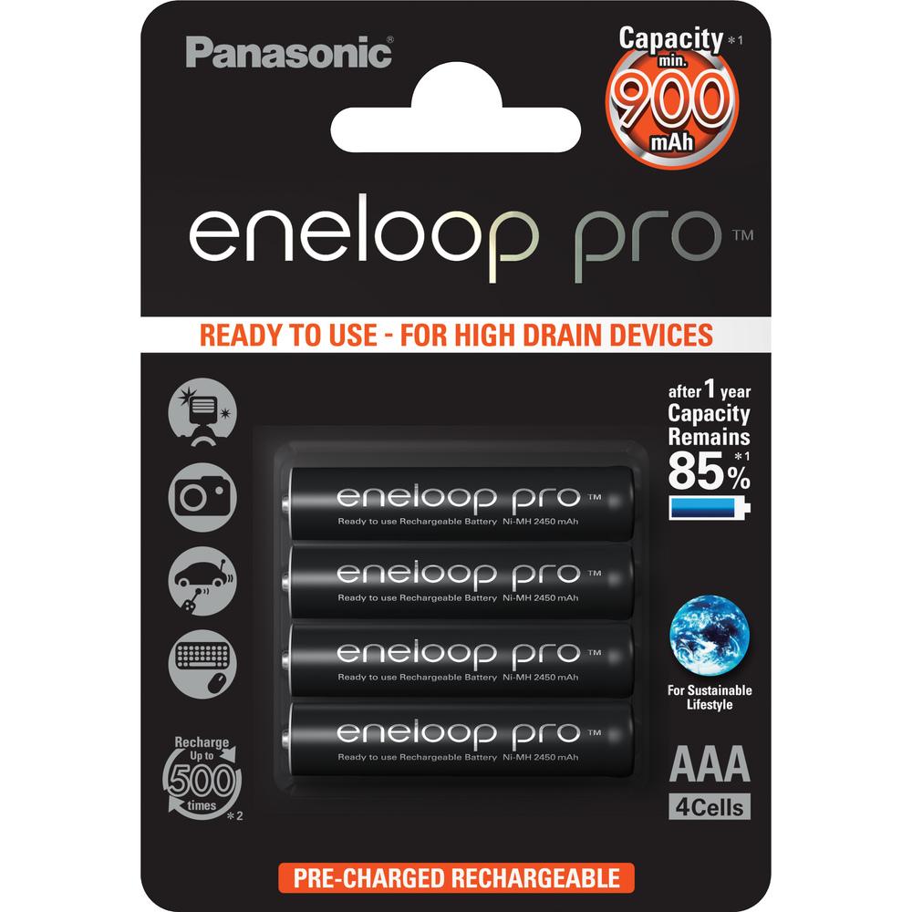PANASONIC 4HCCE/4BE ENELOOP PRO AAA 4x 35045048