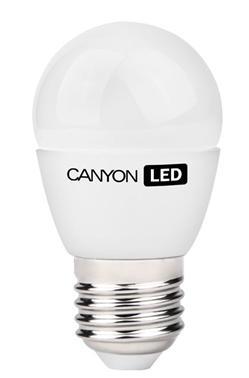 CANYON LED COB žárovka , E27,kompakt,mléčná 3.3W,250 lm,teplá bílá 2700K,230V