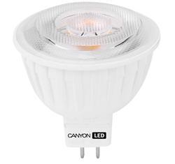 CANYON LED COB žárovka, GU5.3 ,bodová MR16,4.8W,300 lm,teplá bílá 2700K,12V,60 °