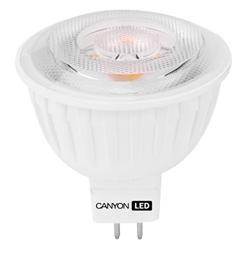 Fotografie CANYON LED COB žárovka, GU5.3 ,bodová MR16,7.5W,540 lm,teplá bílá 2700K,12V,60 °