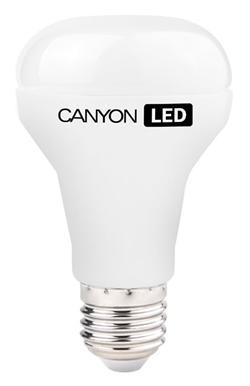 CANYON LED COB žárovka , E27 ,reflektor, mléčná,10W,806 lm,teplá bílá 2700K,230