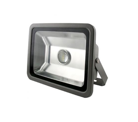 Reflektor FKT LED 100W denní bílá, 7000lm - šedý