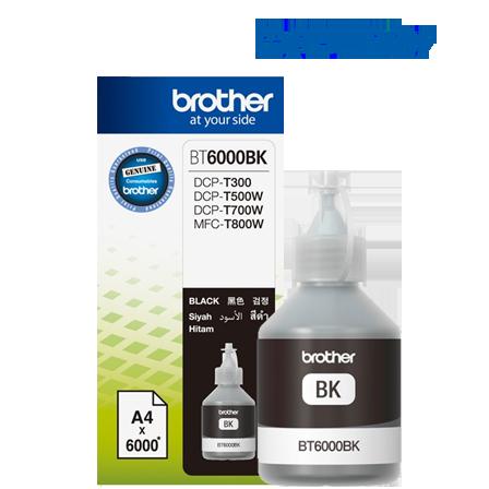 Fotografie Brother BT-6000BK, 6000 strana