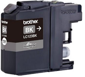 Fotografie Ink Brother LC123BK black   600pgs   MFC-J4510DW