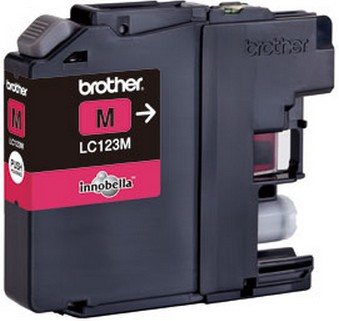 Fotografie Ink Brother LC123M magenta| 600 pgs | MFC-J4510DW