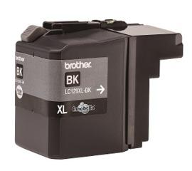 Fotografie BROTHER LC-129XLBK (inkoust black,2400 str.@ 5% draft)