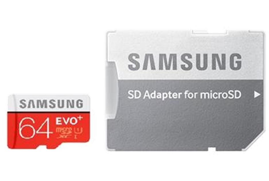 Samsung Micro SDXC karta 64GB Class 10 EVO Plus + SD adaptér