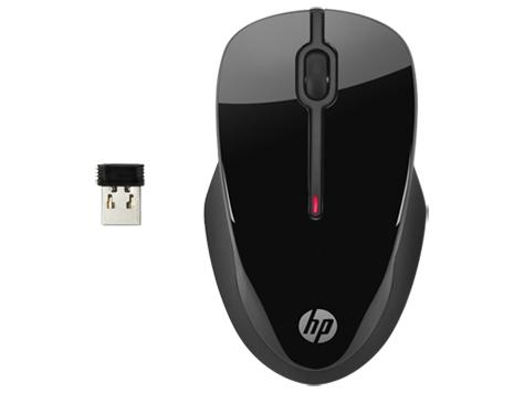 HP X3500 bezdrátová myš černá