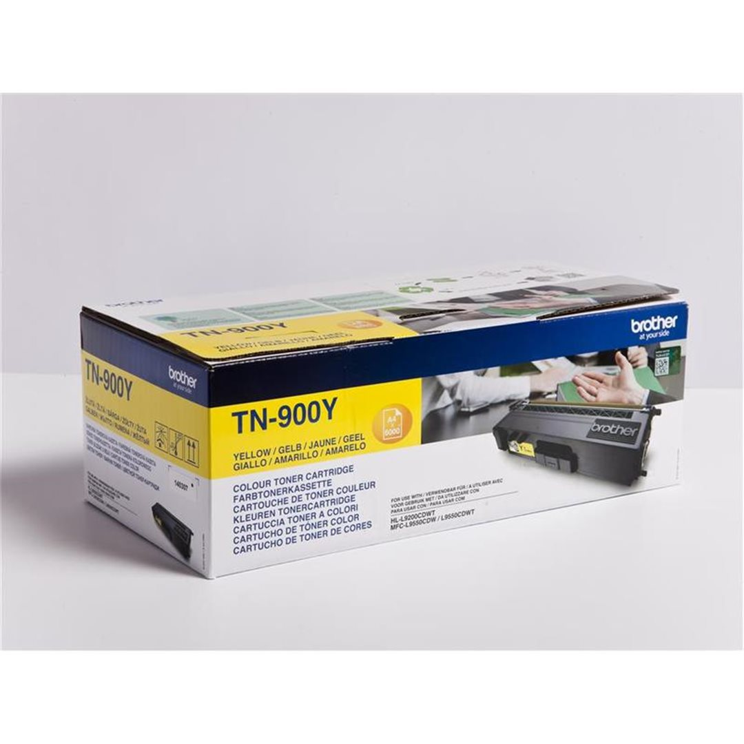 BROTHER TN-900Y , toner yellow, 6 000 str.