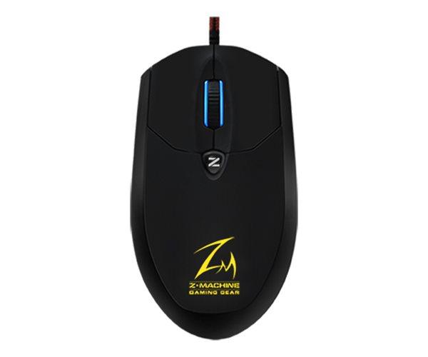 ZALMAN ZM-M600R, optická, 4000DPI, USB, 5tl., LED, black