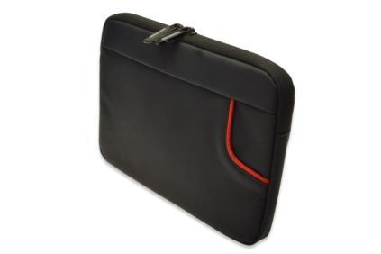 """Ednet pouzdro pro tablet 10,2"""" super-vlákno, černé Rozměry: 29x2.5x21cm"""