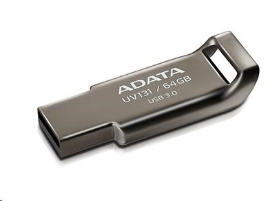 Fotografie A-DATA UV131 64GB USB 3.0 kovový