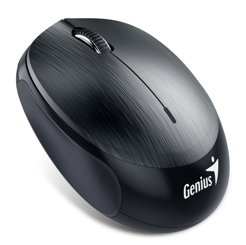 GENIUS NX-9000BT /Bluetooth 4.0/1200dpi/bezdrátová/dobíjecí baterie/kovově šedá