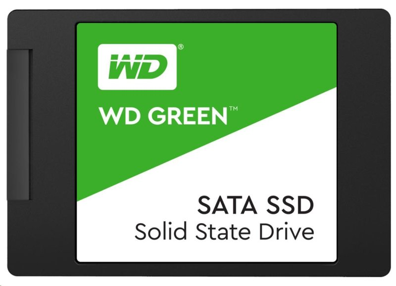 "WD WDS240G2G0A GREEN SSD 3D NAND 240GB SATA/600, (R:545, W:430MB/s), 2.5"""