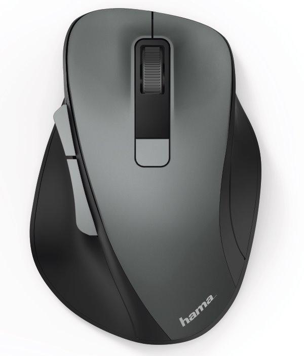 HAMA MW-500 bezdrátová myš,1600dpi,6 tlačítek,USB, antracitová (120x85x42 mm)
