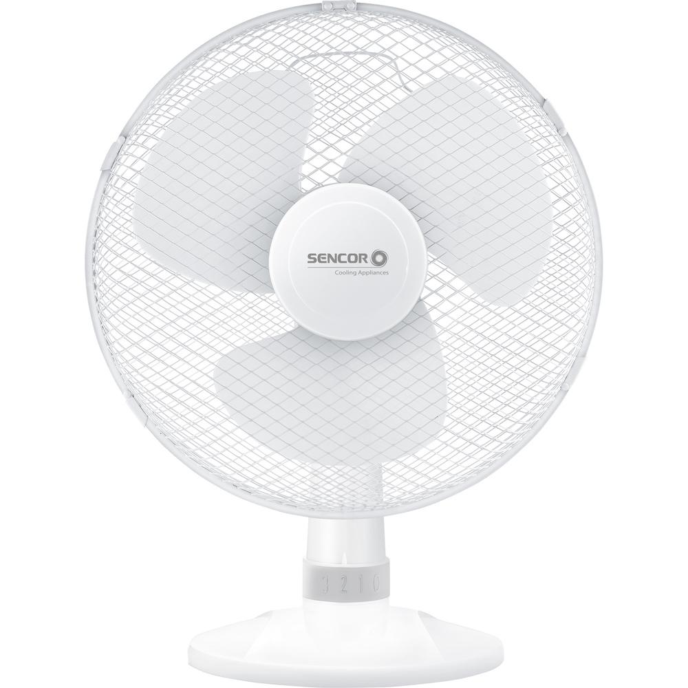 Fotografie SENCOR SFE 3020WH stolní ventilátor