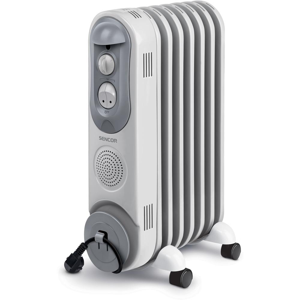 Fotografie SENCOR SOH 4007BE olejový radiátor